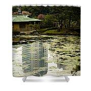Tokyo Reflection Shower Curtain