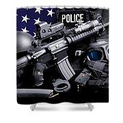 Toledo Police Shower Curtain