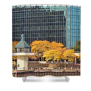 Toledo Riverfront 4195 Shower Curtain