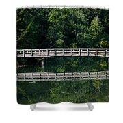 Tolmie Bridge Shower Curtain