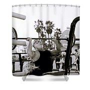 Tom Platz Shower Curtain