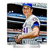 Tom Seaver Shower Curtain