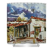 Tom Sparacino - Our Art Instructor Shower Curtain