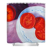 Tomato Shower Curtain