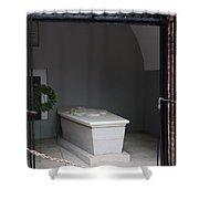 Tomb Georg Washington Shower Curtain