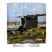 Tomb In Ireland Shower Curtain