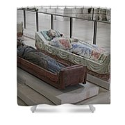 Tomb Of Richard I Of England Fontevraud Abbey Shower Curtain