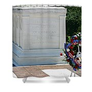 Tomb Of The Unknown Shower Curtain