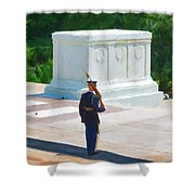 Tomb Of The Unknown Soldier Shower Curtain