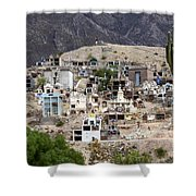 Tombs And Crosses Maimara Argentina Shower Curtain