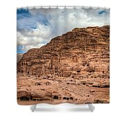 Tombs Of Petra Shower Curtain