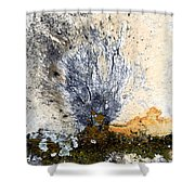 Tombstone Abstract Shower Curtain