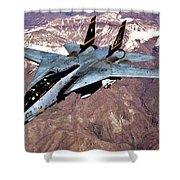 Tomcat Over Iraq Shower Curtain