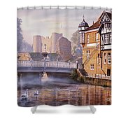 Tonbridge Castle Shower Curtain