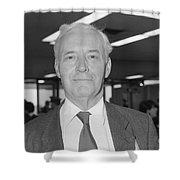 Tony Benn Shower Curtain