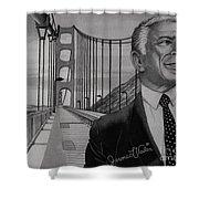 Tony Bennett Shower Curtain