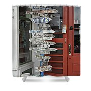 Too Many Choices Shower Curtain