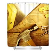 Tools Shower Curtain