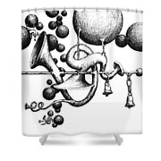 Toot Toot Shower Curtain