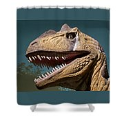 Toothy Shower Curtain