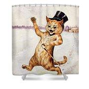 Top Cat Shower Curtain