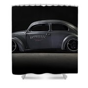 Top Chop Beetle 2 Shower Curtain