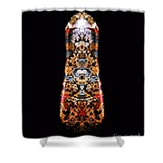Top Count D Shower Curtain