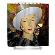 Top Hat Tallulah Shower Curtain
