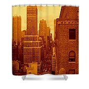Top Of Manhattan Shower Curtain