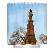 Top Of The Cross Shower Curtain