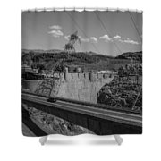 Top Of The Dam Shower Curtain