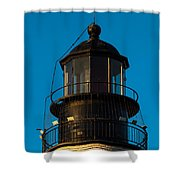 Top Of The Key West Lighthouse  Shower Curtain