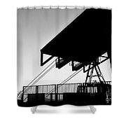 Top Of The World San Marino Cable Car Shower Curtain