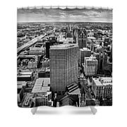Top View Shower Curtain
