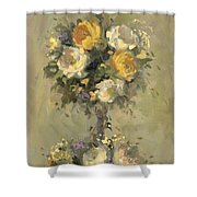 Topiary Bouquet 1 Shower Curtain
