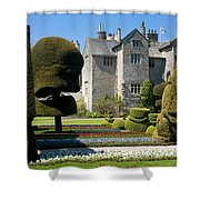 Topiary Garden Shower Curtain