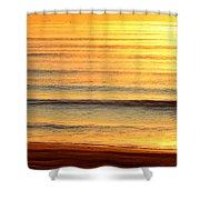 Topsail Golden Mist Shower Curtain