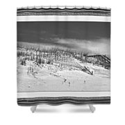 Topsail Island Day Of The Dunes  Shower Curtain