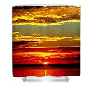 Topsail Island Shower Curtain