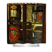 Torah Scrolls Shower Curtain