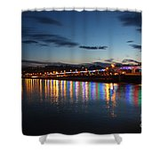 Torbay Nights Shower Curtain