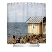 Torekov Se 05 Shower Curtain