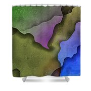 Torn Love Letters Shower Curtain