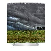 Tornado Over Madison 5 Shower Curtain