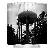 Tornado Tower Shower Curtain