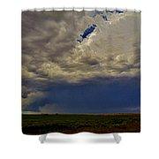 Tornado Warned Denver Supercell Shower Curtain
