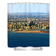 Toronto 2 Shower Curtain