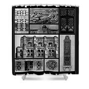 Toronto Art Deco 1 Shower Curtain