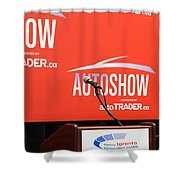 Toronto Autoshow Shower Curtain