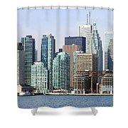 Toronto Downtown Shower Curtain